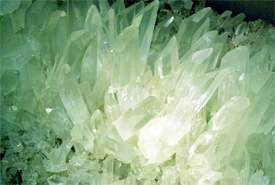 Crystals - Photo courtesy of Peter Griffin